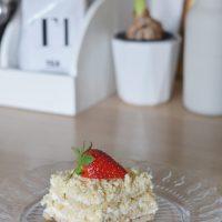 Ciasto kokosowe – bez pieczenia! – przepis