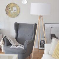 Relaks przy lampie – wiosenna odsłona mojego salonu