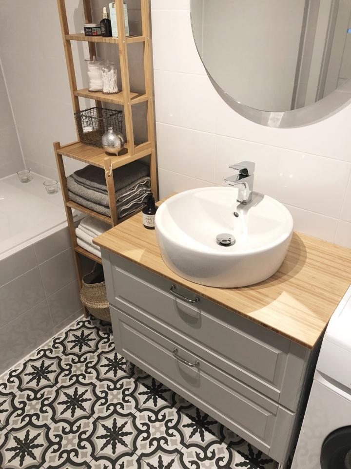 Wymarzona łazienka w stylu skandynawskim #czterykątyitaraspiąty